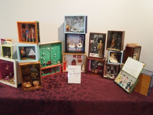 Shadow box displays